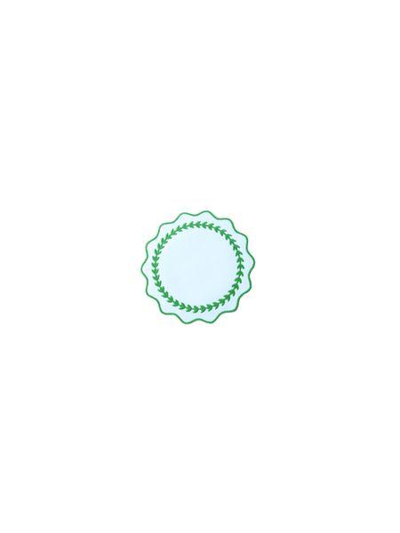 porta-copo-guirlanda-verde-kit-com-6-unidades