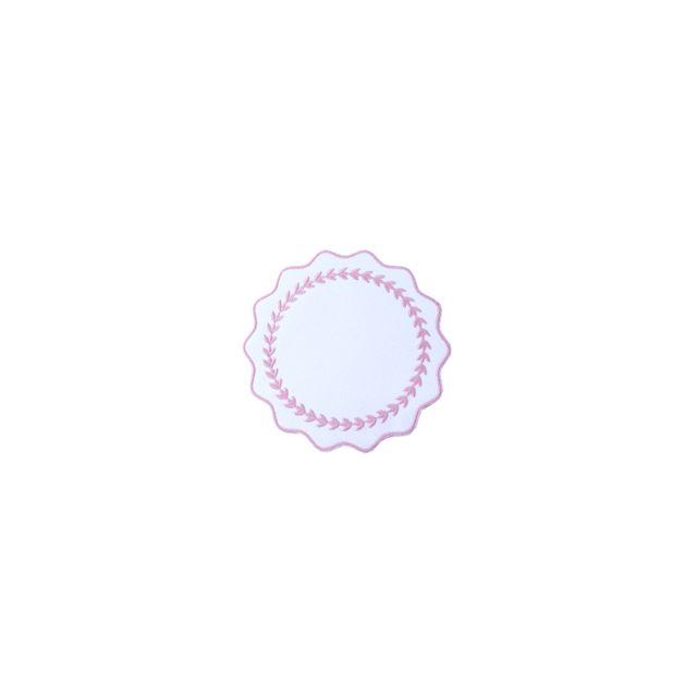 porta-copo-guirlanda-rosa-kit-com-6-unidades