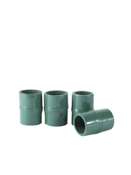 porta-guardanapo-bambu-verde-kit-com-4-unidades