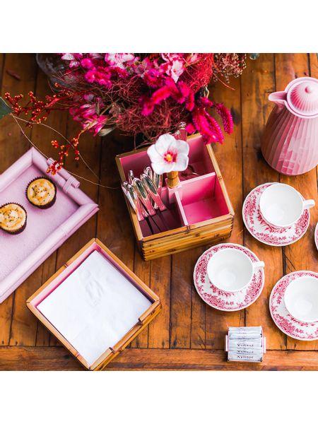 porta-talher-bambu-flor-rosa