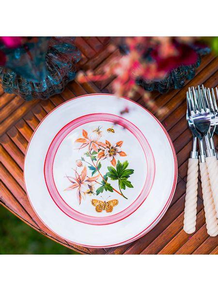 prato-sobremesa-flor-rosa-jogo-com-6-unidades